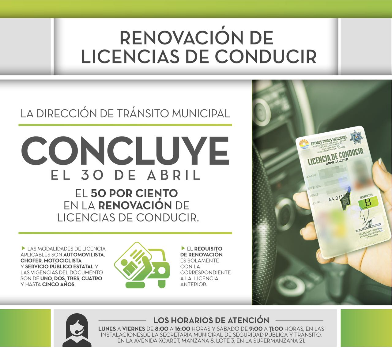 50 De Descuento En Licencias En Cancún Pedro Canché Noticias